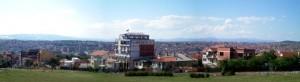 Vue de Pristina