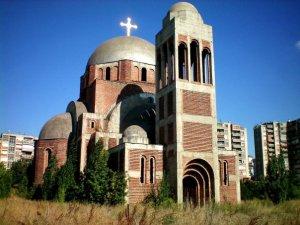 L'Eglise orthodoxe de Pristina - par Pierre Bonifassi