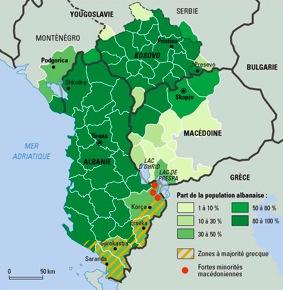 L'Albanie, entre Etat et nation