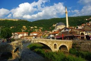 Vue de Prizren (sud du pays) - par Pierre Bonifassi