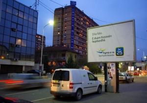 """Fryma e Re, une campagne """"sans photo"""" du leader, une stratégie singulière dans le paysage politique kosovar"""